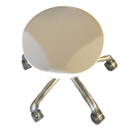 Ergoshape Werkstoeltje met rugleuning