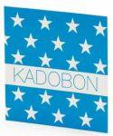 Kadobon Sterren Blauw