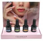 Big dreams Collection by Gelamour with FREE display 4 x 15 mL
