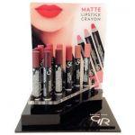 Golden Rose Matte Lipstick Crayon + testers + 1 voorraad