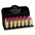 Golden Rose Velvet Matte Lipstick Display 16 stuks